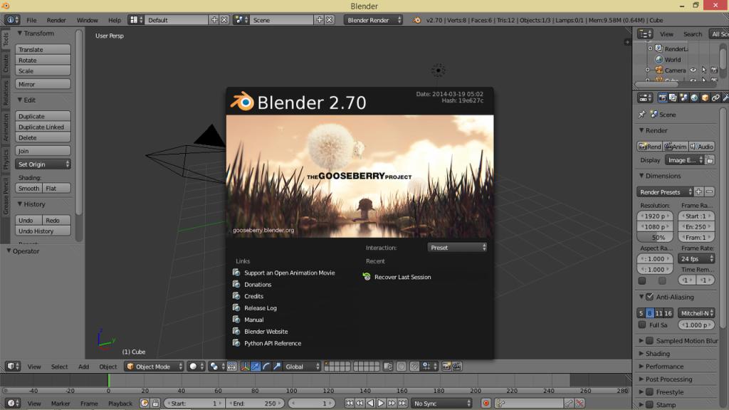 Blender_2.70