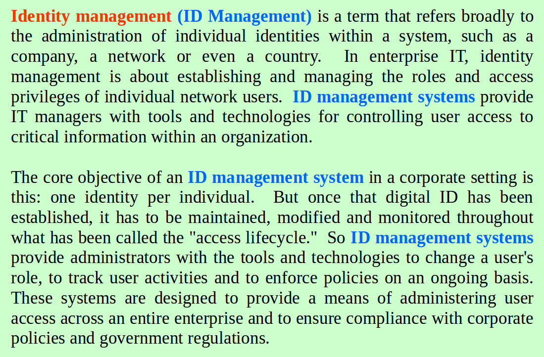 what_is_id_management